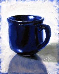 sm 09 Blue Mug (c)TracyWall