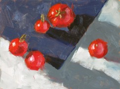 Cherry Tomatoes, ©2012 Tracy Wall