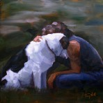 """Lean on Me 3"" ©2011 Tracy Wall"