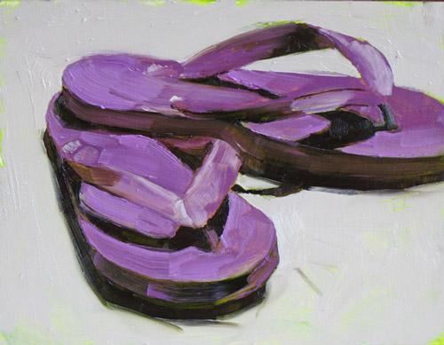 Flip Flops 3 ©2011 Tracy Wall