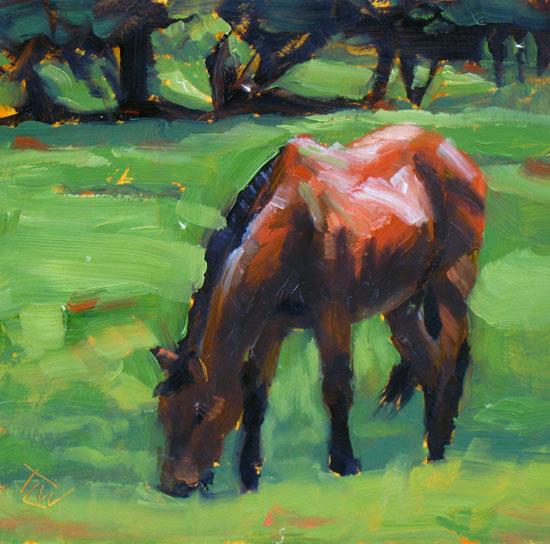 Horse Study #45 ©2011 Tracy Wall
