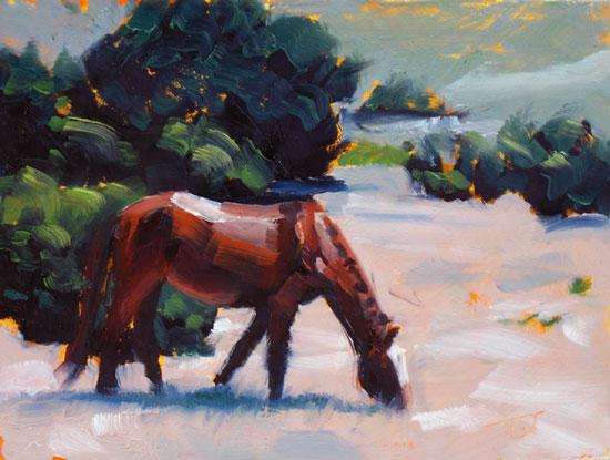 Horse Study #46 ©2011 Tracy Wall