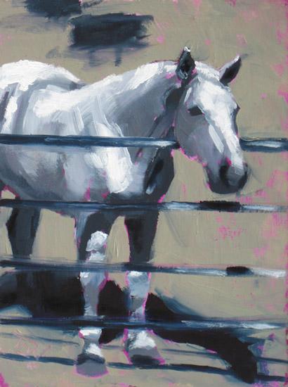 Horse Study #47 ©2011 Tracy Wall