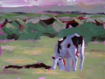 Cow Study #7, ©2011 Tracy Wall