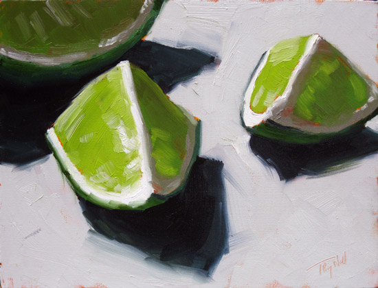 Limes 6, ©2011 Tracy Wall
