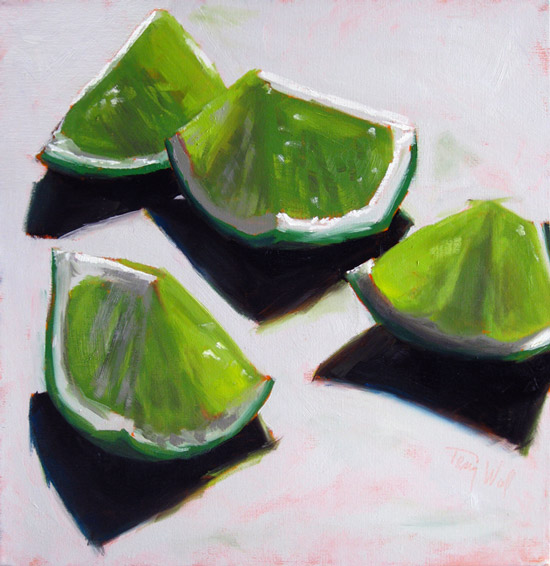 """Limes 7""  ©2011 Tracy Wall"