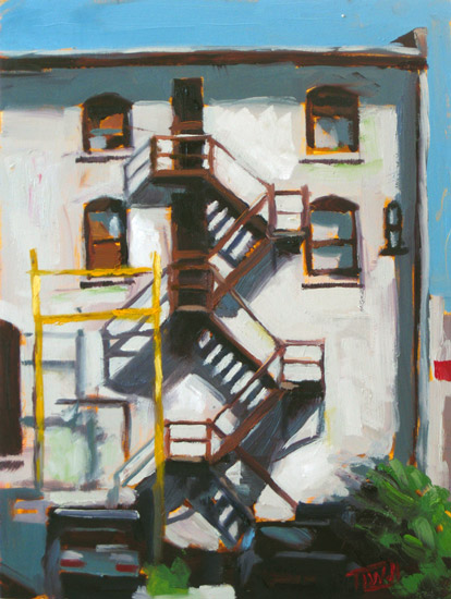 Fire Escape ©2011 Tracy Wall