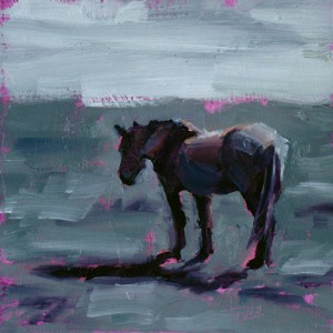 Horse Study #49 ©2011 Tracy Wall
