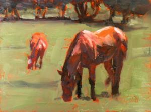 Horse Study #50, ©2011 Tracy Wall