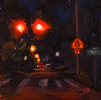 Night Lights #8, ©2012 Tracy Wall