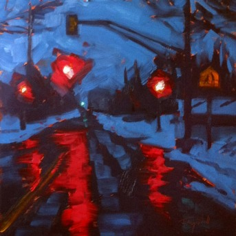 Early Morning Holly Street ©2012 Tracy Wall
