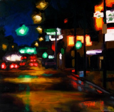 Colfax Lights, ©2012 Tracy Wall