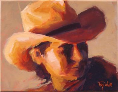 Cowboy Study #13 ©2012 Tracy Wall