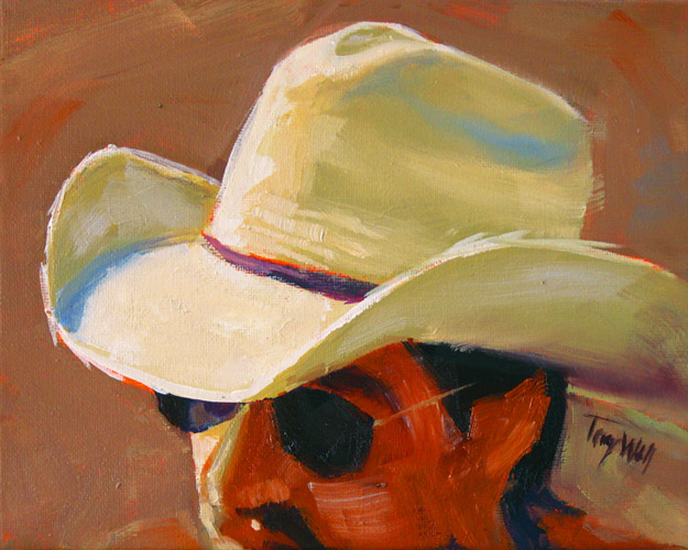 Cowboy Hat Paintings Cowboy Hat 14 And Happy st