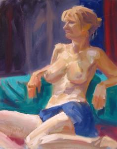 Figure Study #5 Sedona, ©2012 Tracy Wall