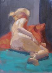 Figure Study #6 Sedona, ©2012 Tracy Wall