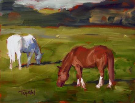 Horse Study #52, ©2012 Tracy Wall