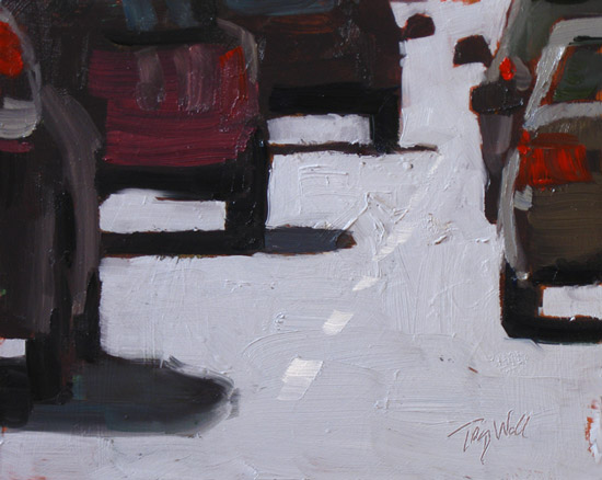 Noon Traffic ©2012 Tracy Wall