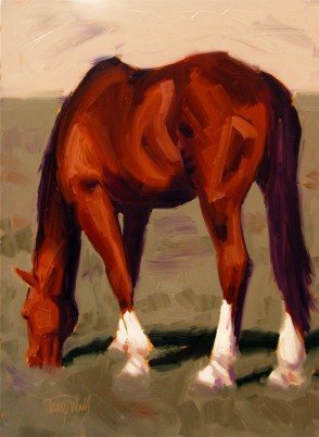 Sunny Chestnut, ©2012 Tracy Wall
