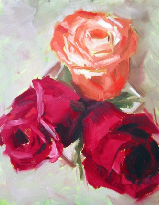 Rose Trifecta, ©2012 Tracy Wall