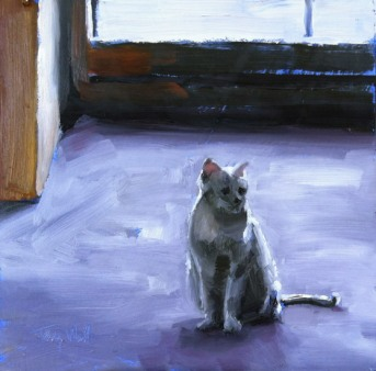 Cool Cat on a Hot Day, ©2012 Tracy Wall