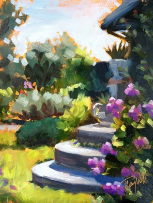 Phlox Steps, ©2012 Tracy Wall
