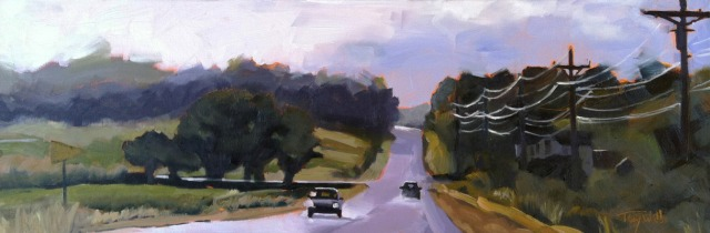 Showers Passed (Hwy 18), ©2012 Tracy Wall