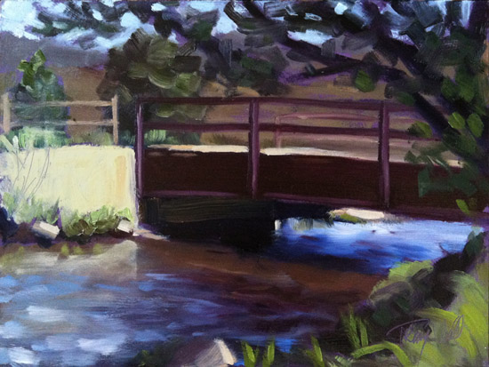 Water Under the Bridge, ©2012 Tracy Wall