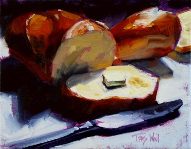 Bread 'n Butter, ©2013 Tracy Wall