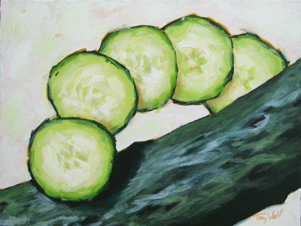 Cucumber Slices, ©TLW