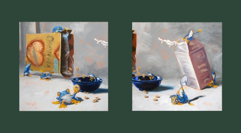Cereal Collaboration (1&2) ©Tracy Wall
