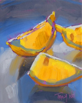Sunset Lemons, ©Tracy Wall