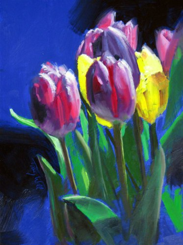 Spring Tulips, ©Tracy Wall