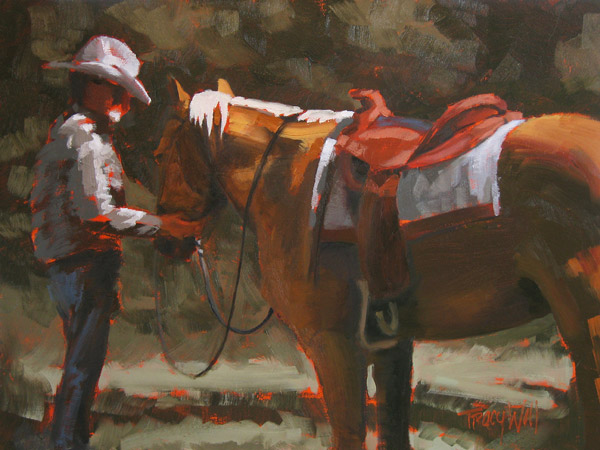 He's Bridled, ©Tracy Wall