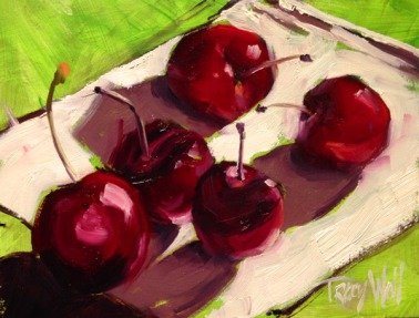 Trouble with Cherries ©Tracy Wall